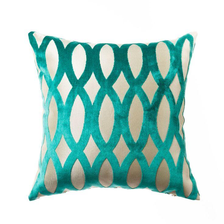 Mercer + Reid Ariana Emerald - Soft Furnishings Cushions - Adairs Online