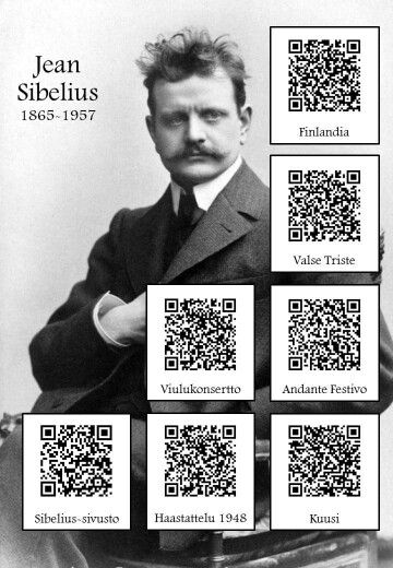 Sibelius and links.