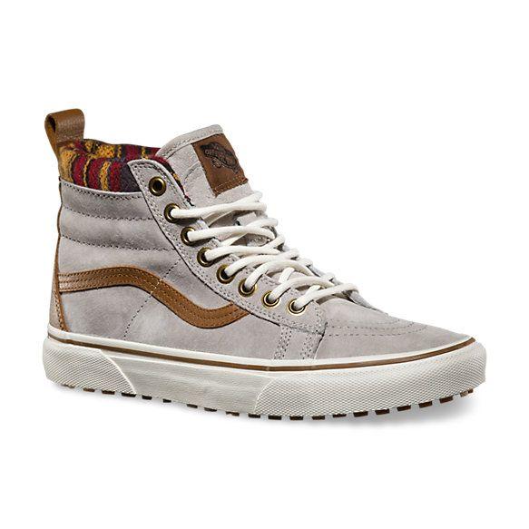 sk8-Hi, Sneakers Hautes Mixte Adulte, Noir (Plaid Flannel), 38.5 EUVans
