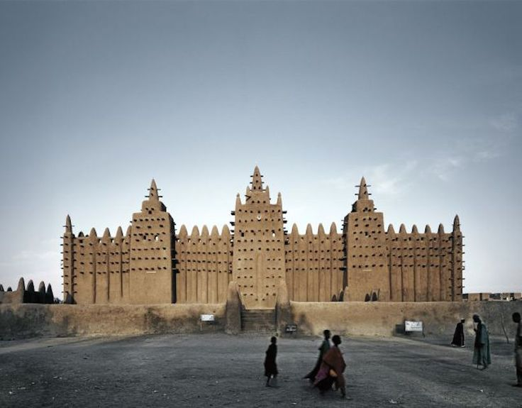 Djenne Mosque, Mali ©James Morris