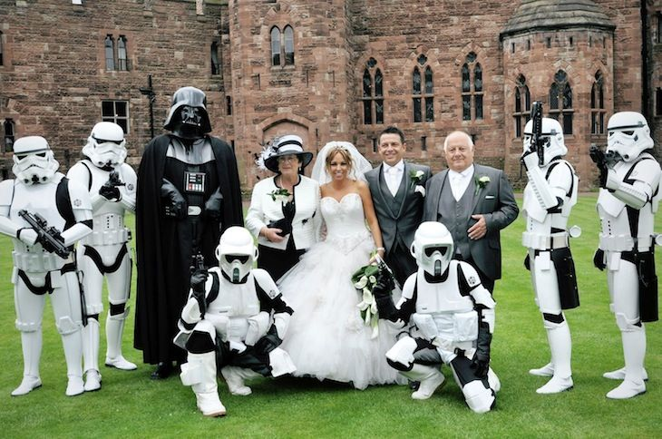 StarWars Wedding If I could get away with it I would so do this