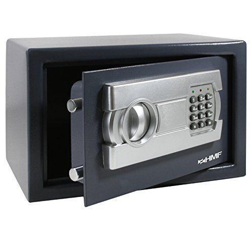 HMFCoffre-fort avec serrure électronique 310x 200x 200mm: Price:46.9Coffre-fort, coffre-fort à poser avec serrure électronique 310 x…