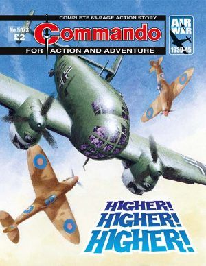 Commando is Britain's longest serving war comic, publishing stories of action and adventure since 1961. Features classic cover images and book information.