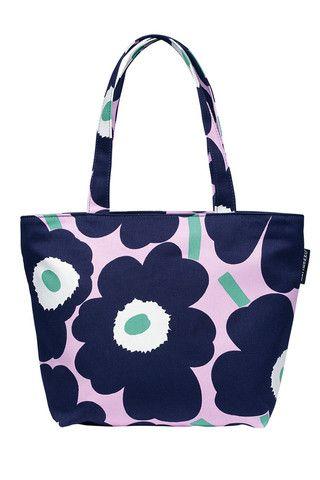Marimekko Kami Unikko Shopping Tote Bag | Kiitos Marimekko
