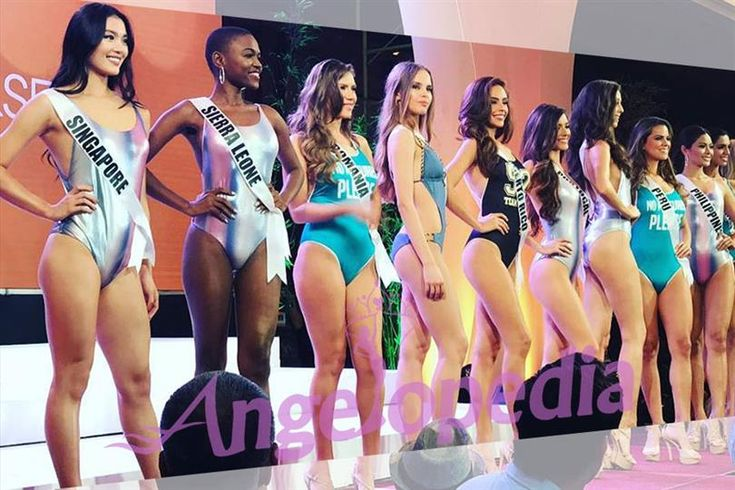 Watch the contestants of Miss Universe 2016 pose in swimwear!