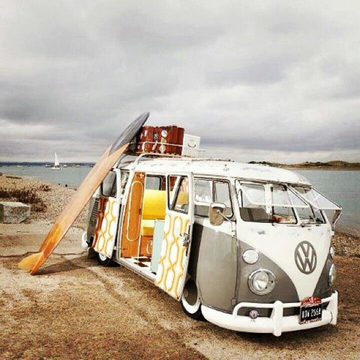 surfs up #VWBUS #SurfBus | re-pinned by http://www.wfpcc.com