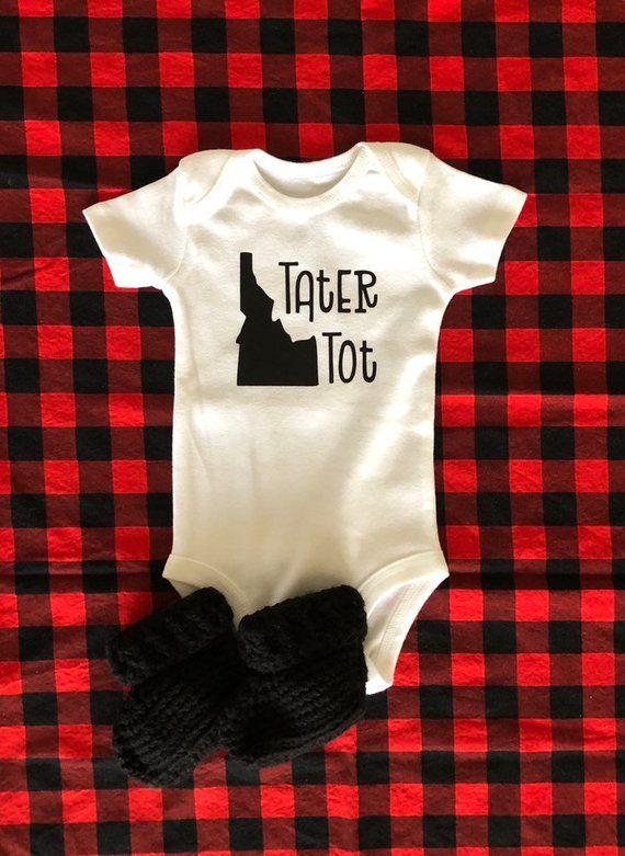 33bcaf131 Idaho Bodysuit White Bodysuit, Kids Shirts, Idaho, Onesies, Baby Overalls