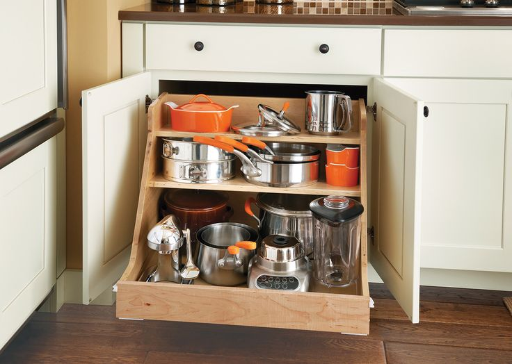 Base Pot And Pan Organizer Forget Clanking Through All