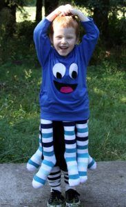 Octopus Costume made from products from DollarTree.com