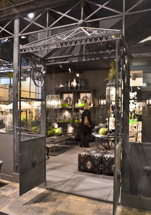 Exhibition Stand Industrial : Best booth layout and décor images on pinterest