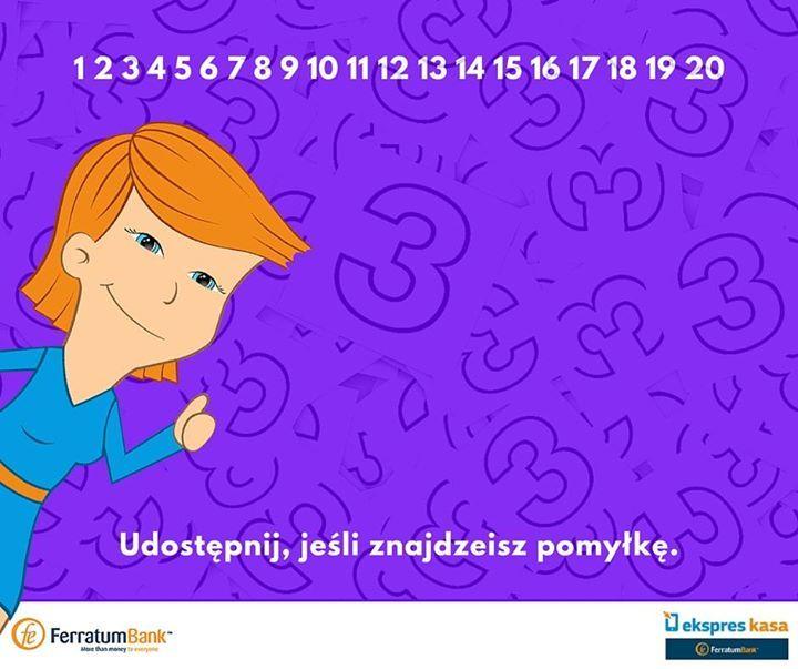 Znajdź pomyłkę :)  #zagadka