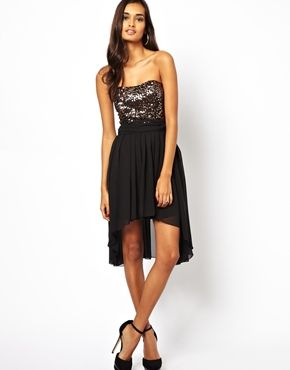 Enlarge Jessica Wright Diamond Strapless Dress