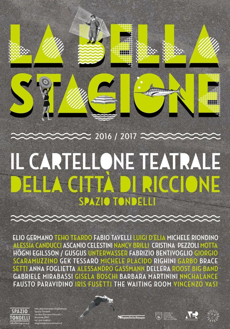 Cartellone teatrale di Riccione.