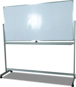 Aluminum high quality nice looking rotate 360 degrees aluminum whiteboard Easel /whiteboard stand WS-A18