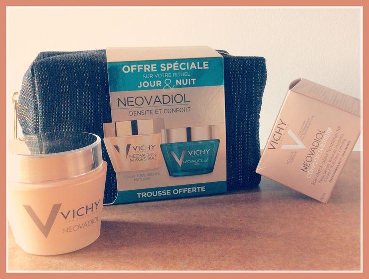 [#Vichy] Alerte #promo! Vite Vite Vite => Actuellement une #réduction de 3€ sur toute la gamme Neovadiol 😯 #Promotion disponible jusqu'au 30 septembre #creme #trousse #reduction