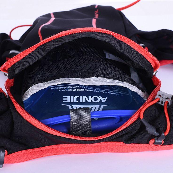 AONIJIE 5L Sports Running Vest Backpack Marathon Hydration Water Bag Pack Holder Sale - Banggood.com