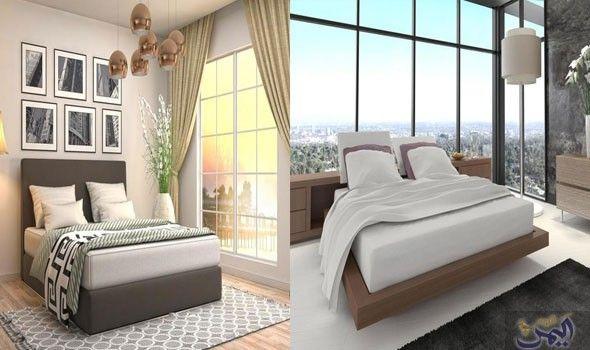 تصميمات مختلفة رائعة لغرف نوم فخمه ذات Furniture Home Decor Bed
