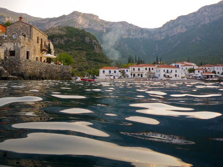 Magnificent view of Kiparissi village in Lakonia!
