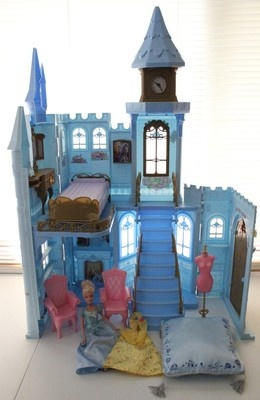I really like this. : Barbie Disney Princess Cinderella Castle House Sounds Furniture Accessories Lot | eBay