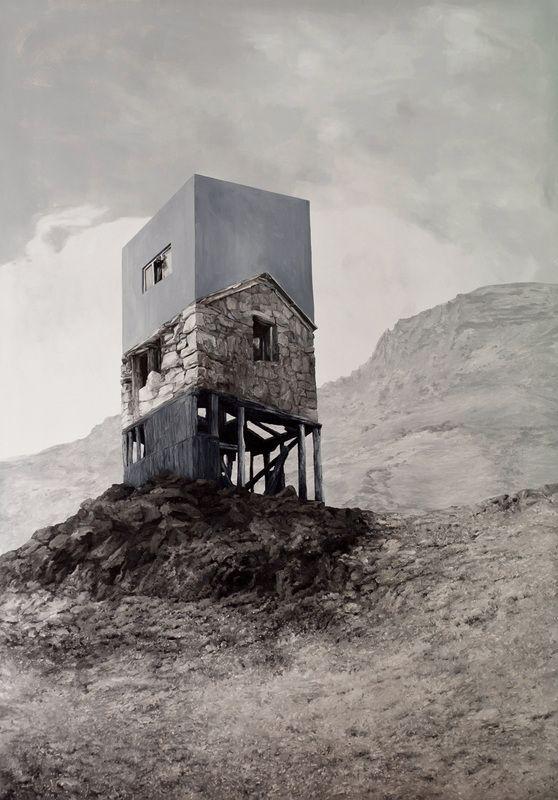No Day like Tomorrow, 2011, oil on canvas, 175 x 122 cm.