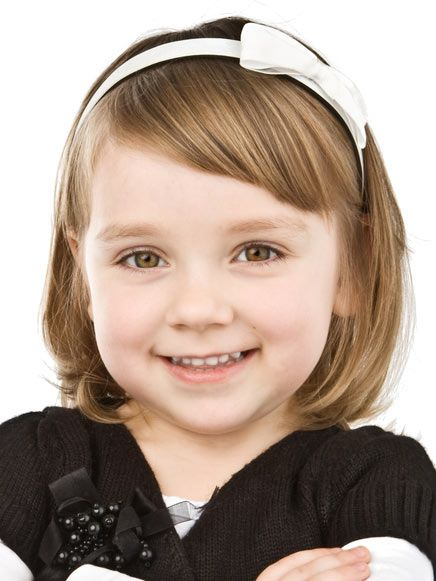 Super sweet bob hairstyle for your little girl. Here are a few styling tips... http://www.latest-hairstyles.com/kids/girls/bob.html