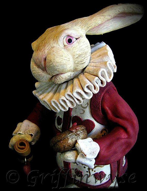 Fino arte Foto imprimir de Alicia en el país de las maravillas blanco conejo