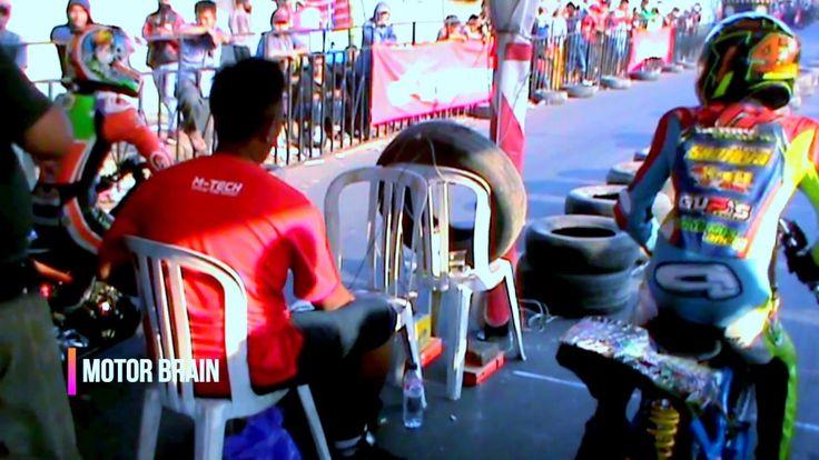 DUEL PANAS Ivan Bangun vs Gery Percil - Drag Bike Bebek 4Tak Tune Up 130cc
