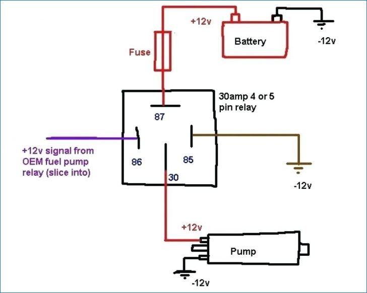 12v Relay Wiring Diagram 5 Pin Kijang Bokeh