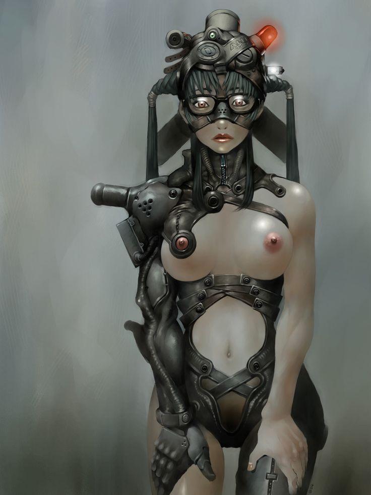 Female Blonde Sexy Sci Fi Angels Digital Art