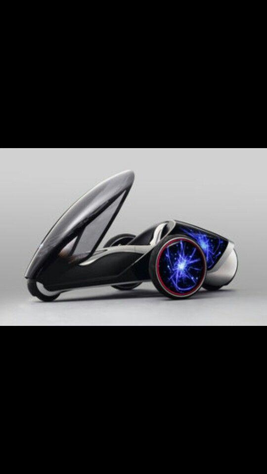 Futuristisch voertuig land hw
