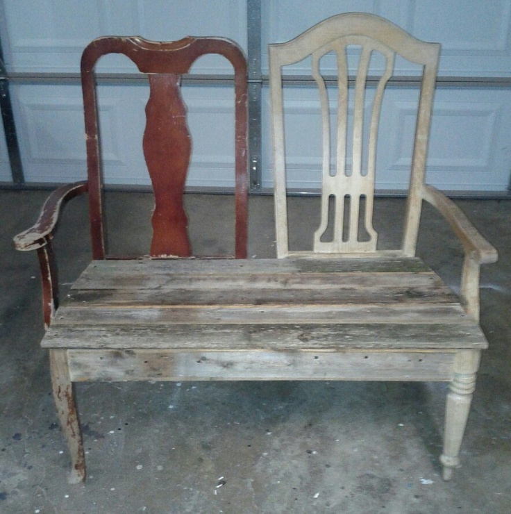 22 best Chair bench images on Pinterest | Chair bench, Furniture ...