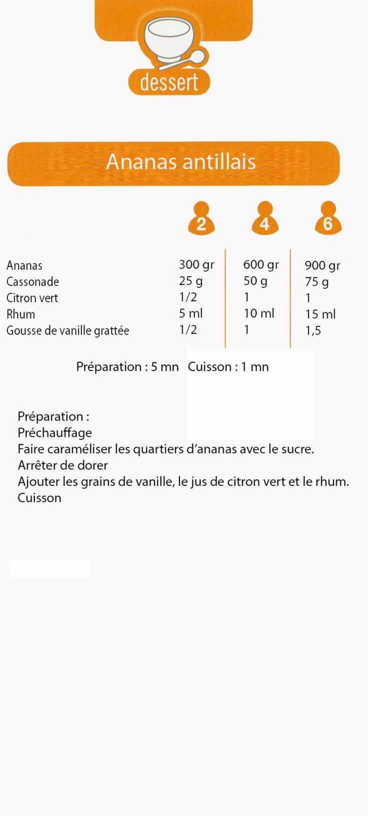 Cookeo :: Ananas antillais http://www.forum-cookeo.com/t1703-Ananas-antillais.htm