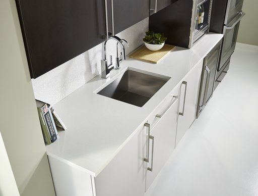 Corian 174 Silver Gray Corian 174 Solid Surface Kitchens