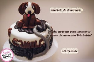 Sweet Cucas and Cupcakes by Rosângela Rolim: Bolinho Surpresa de Aniversário