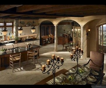 Tuscan Kitchen Ideas   Tuscan Kitchen Design Ideas, Pictures, Remodel, and Decor