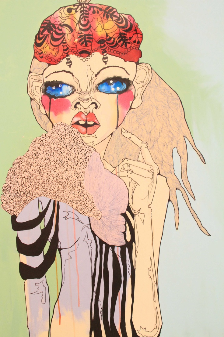 Anya Brock Artist & Sara Winfield Artwork