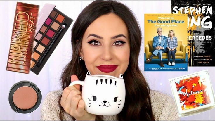 FALL MUST HAVES || Favorite Makeup, Fashion, TV Shows, Books || October ...