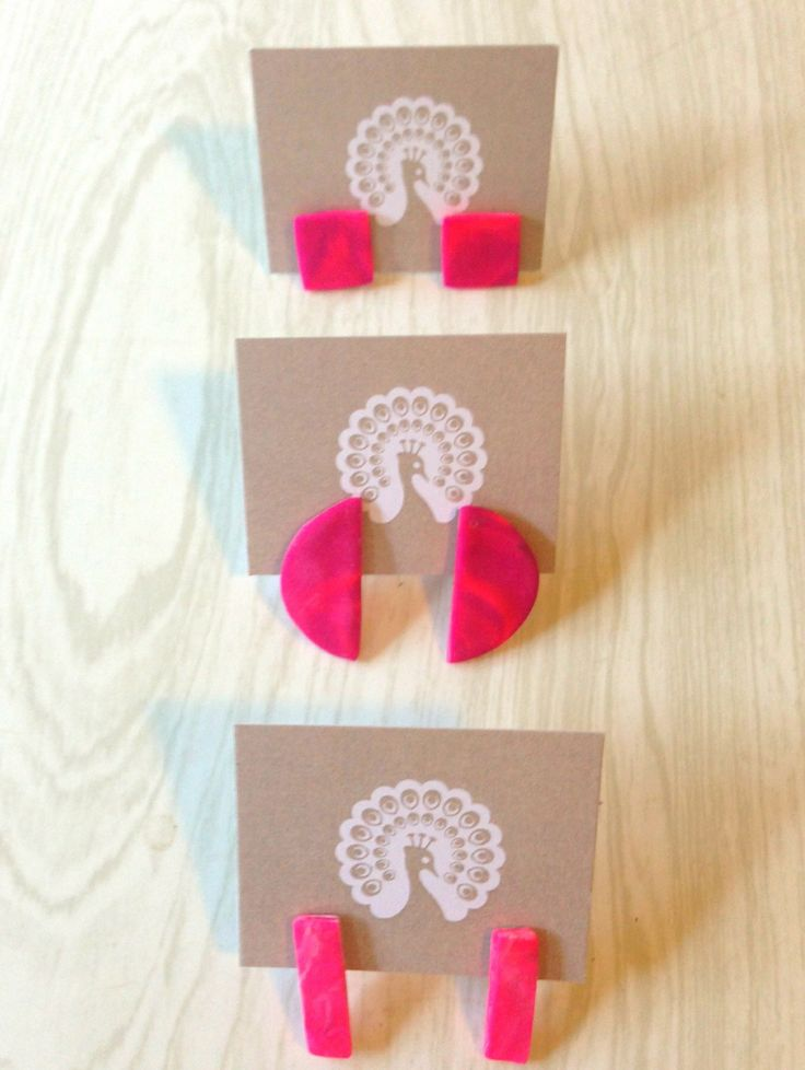 Hot Fuschia pink blend studs were going for $10 or 2 for $15!  still some left x
