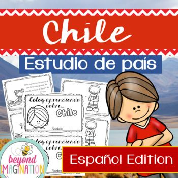 *Please note this is the SPANISH EDITION* Travel to the land of Chile with your lower elementary grade/ kindergarten/ special education learners. Includes super fun boarding passes and postcards from Chile (the kids just LOVE these).