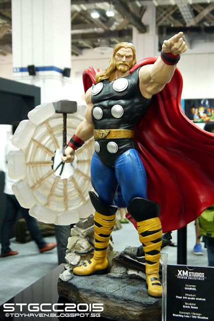 toyhaven: Seen@STGCC2015 Part 3: Marvel Statues by XM Studios & Imaginarium…