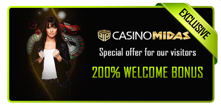 200% Welcome Bonus at Casino Midas! http://bit.ly/Y80EiP