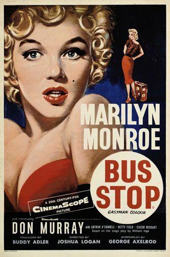 Marilyn, Bus Stop  ✿ El baul de leles ✿: Poster vintage