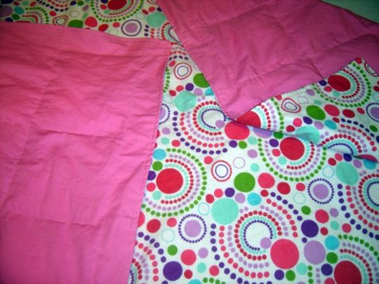 how to make a weighted blanket for sensory input (sleep and calming aid)