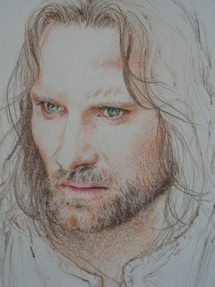 Lord of the Rings!!! I so wish I could draw like this!!