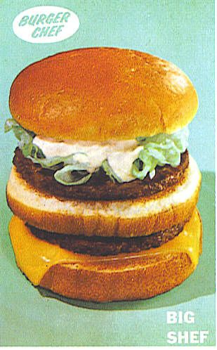 Burger Chef Big Shef by bayswater97, via Flickr