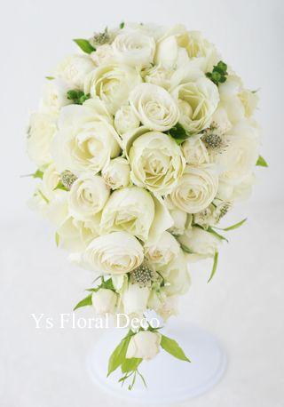 カップ咲きのバラブーケ  ys floral deco  @ペニンシュラホテル東京