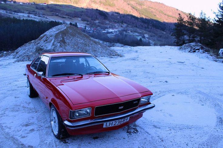 Opel Commodore B Coupe 1974 - ok. 24000 PLN - Norwegia - Giełda klasyków