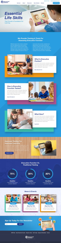 Kids learning website design by: Mike Delsing