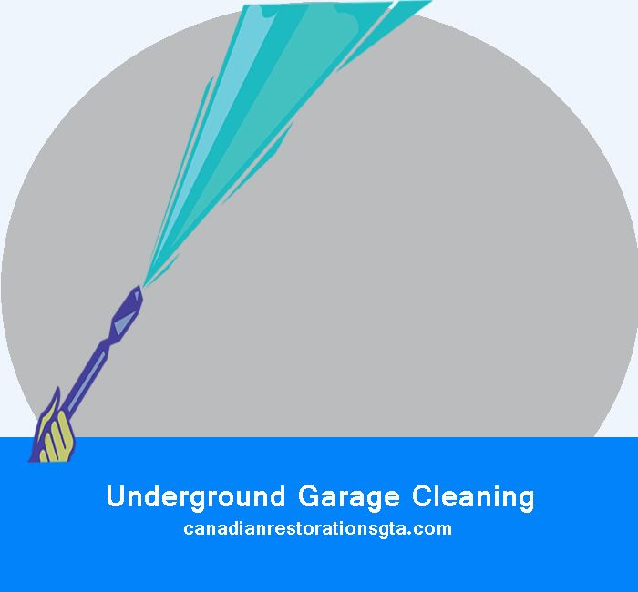 Underground Garage Cleaning