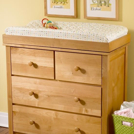 Baby Changers Natural Wood Changing Top In